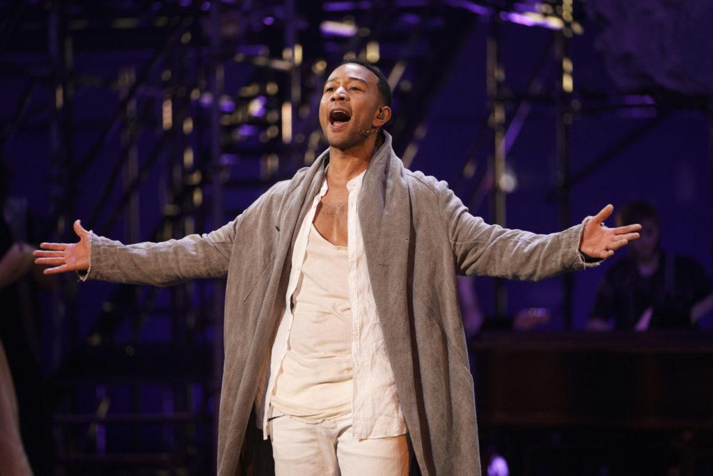 Legend Falls Short of Divine in 'Jesus Christ Superstar Live!'