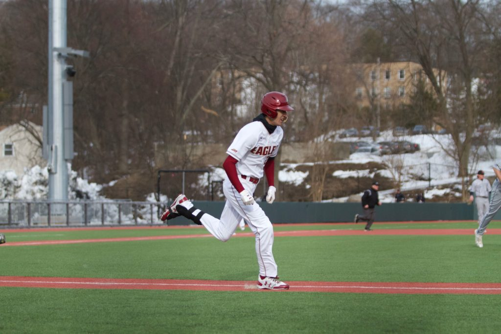 Eagles Scrape Past Maine in High-Scoring, Eight-Inning Affair