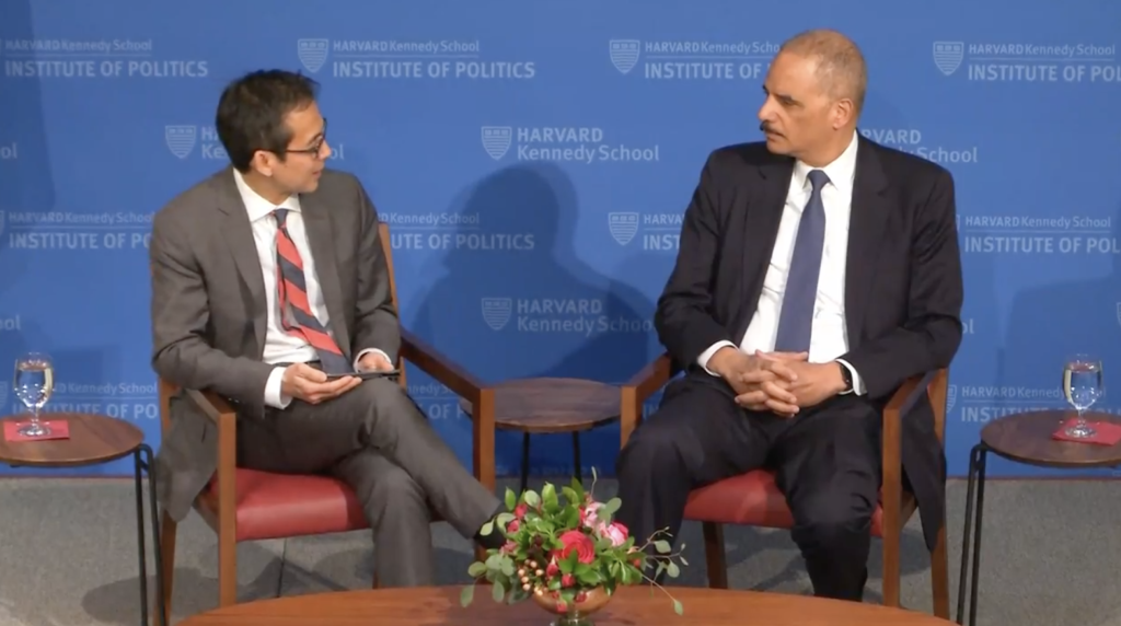 Former AG Eric Holder Talks Redistricting, 2020 Plans