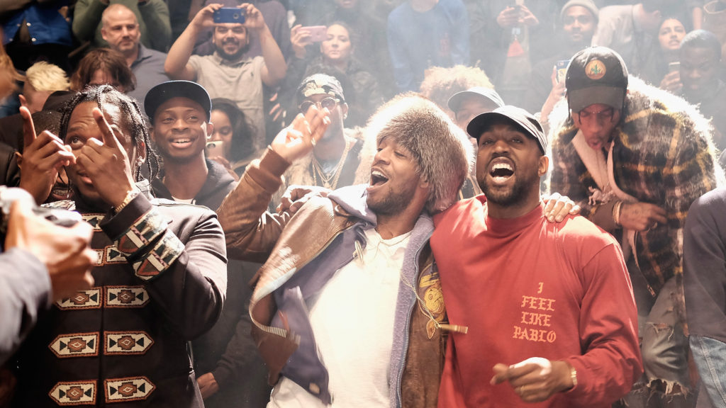 Kanye Overpowers Cudi on Collab 'KIDS SEE GHOSTS'
