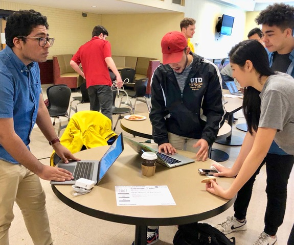 Gallaugher's App Development Class Showcases Final Projects
