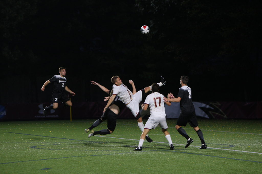 BC Weathers Red Card to Draw Foul-Filled Contest with Providence