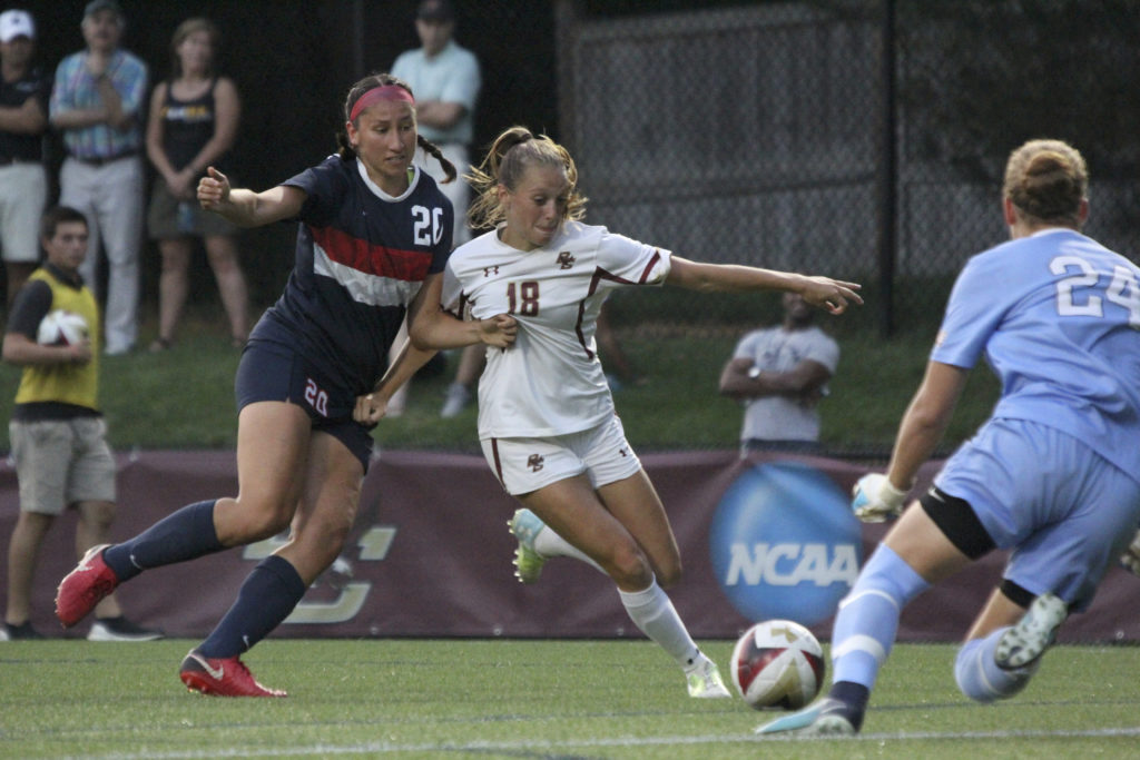 BC Tops Stony Brook, Records Fourth Consecutive Shutout