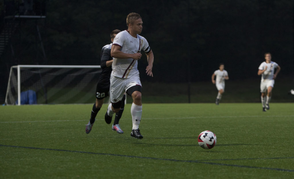 Eagles' Scoreless Exhibition Against Colgate Cut Short Due to Inclement Weather