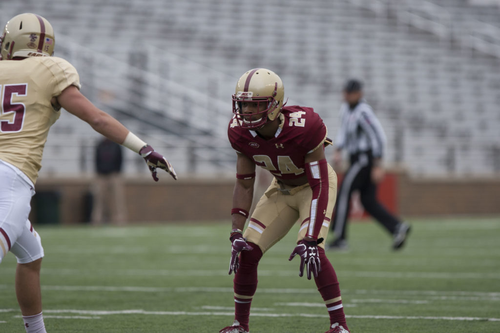 BC's Ball-Hawking Defense Dictates Second Scrimmage
