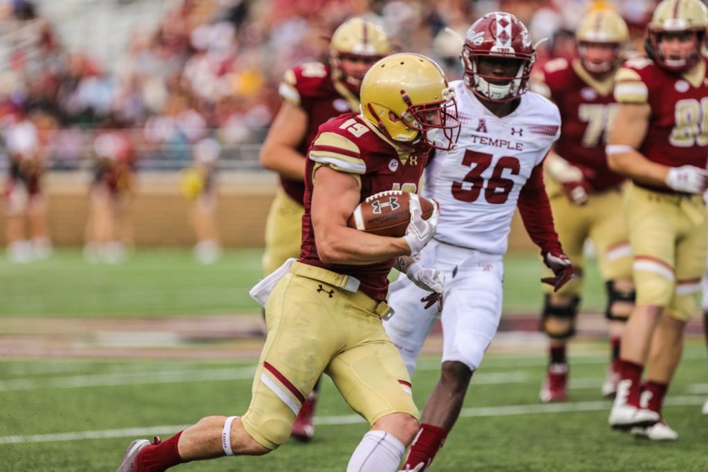 Notebook: First Down Play-calling Cause for Concern in BC's Win Over Temple