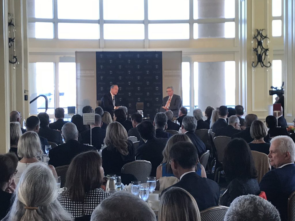 Visa CEO Speaks to BC Chief Executive Club