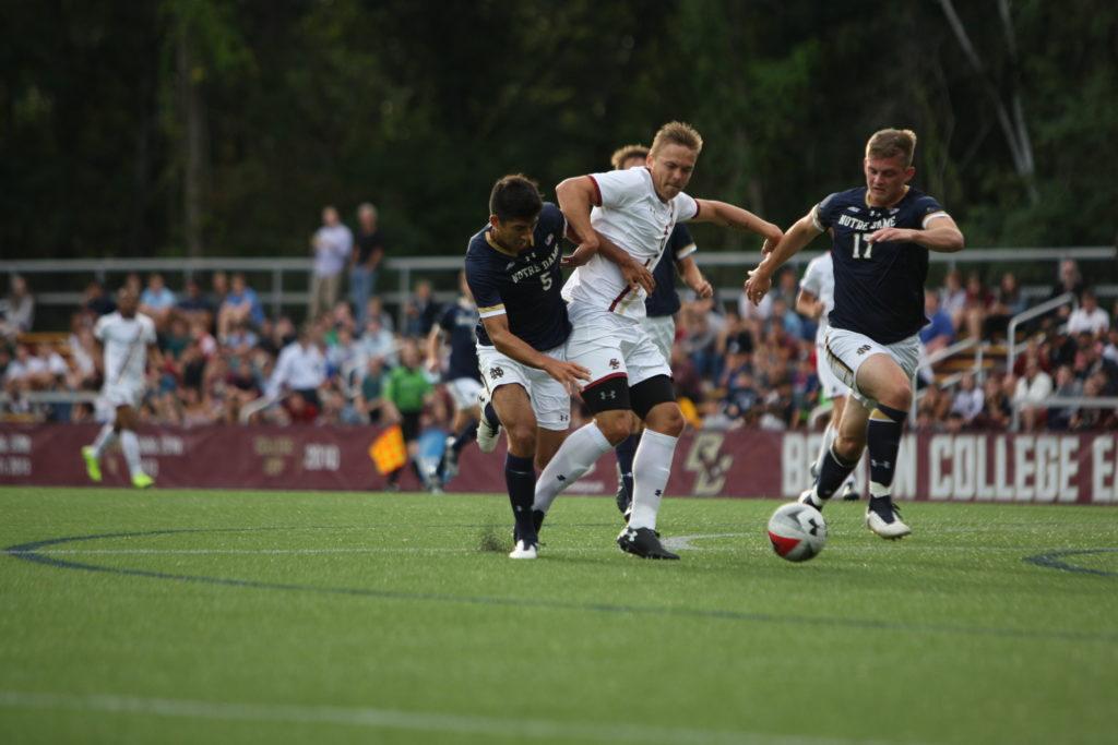 Previewing 2018 Men's Soccer: Notre Dame