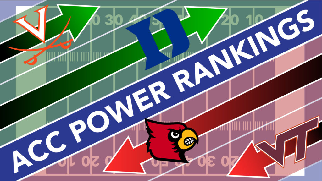 Embarrassing Saturday Spices Up Week Four ACC Power Rankings