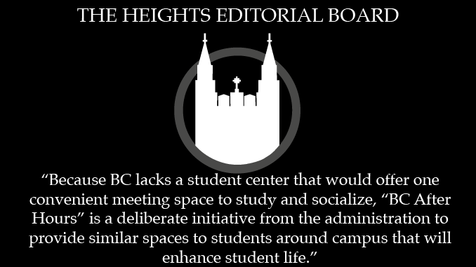 "Editorial: ""BC After Hours"" is Positive Initiative for Student Life"