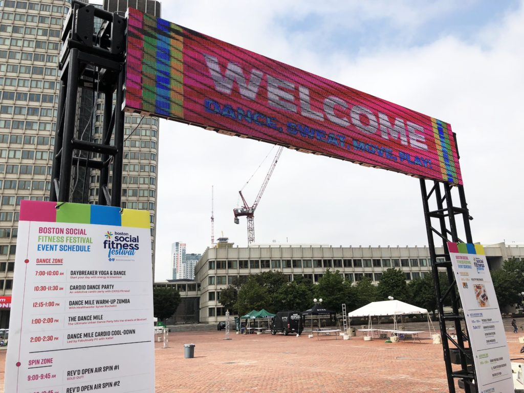 Boston Social Fitness Festival Celebrates Movement, Wellness