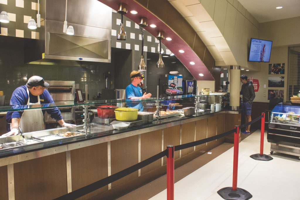 Dining Services Provides Updates on Fall Semester Changes