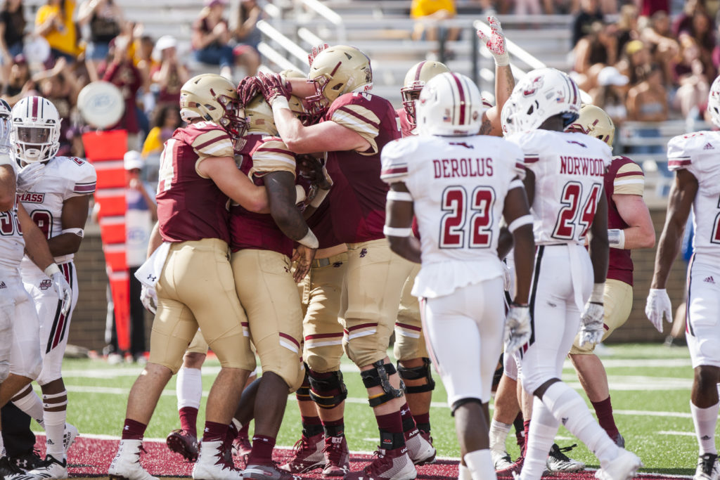 Notebook: Pass Rush, Offensive Gameplan Keys Rout of Massachusetts