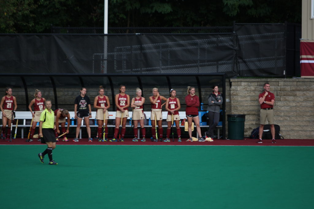 Maryland's Maguire Spoils BC Comeback With Late Goal