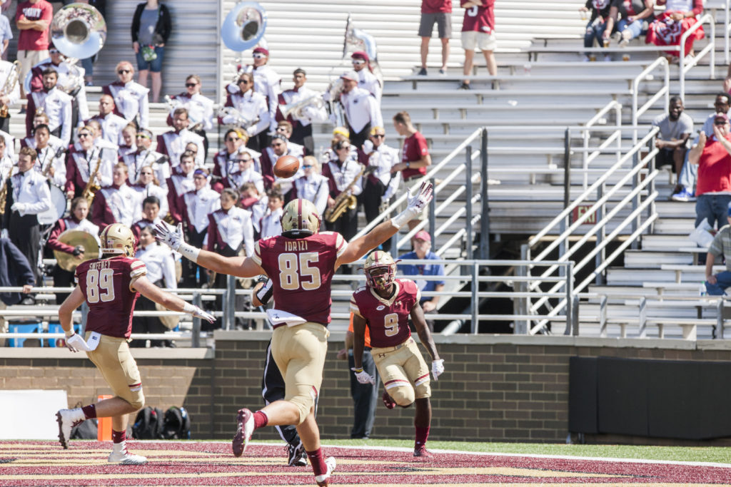 Brown's Career Day Sets the Stage for Season-Opening Rout of UMass