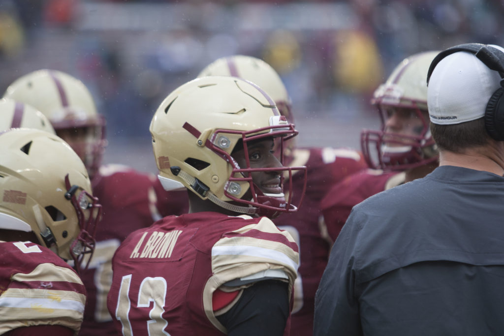 Motivated by Recovery, Anthony Brown is Back to Bring BC Consistency