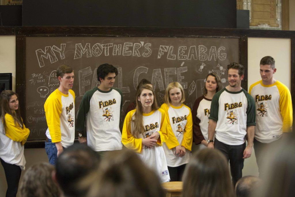 Fleabag Provides Comedic Relief from Midterms at Fall Café