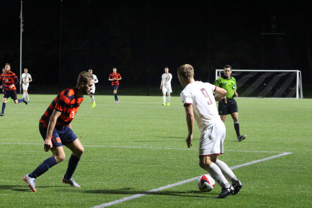 Men's Soccer's Regular Season Ends With Scoreless Tie at No. 20 Syracuse
