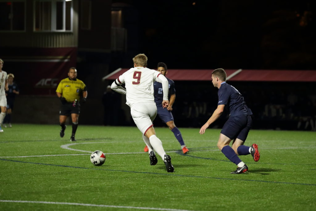 At URI, Eagles Once Again Let Match Slip Away in Final Stages of Regulation