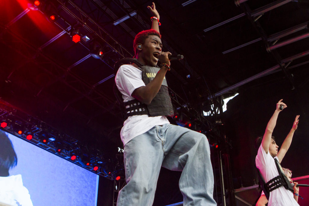 BROCKHAMPTON Shines During Agganis Arena Set