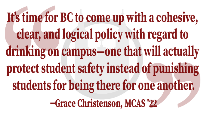 Guest Column: A Letter to the Dean Calling for a Reconsideration of BC's Alcohol Policy