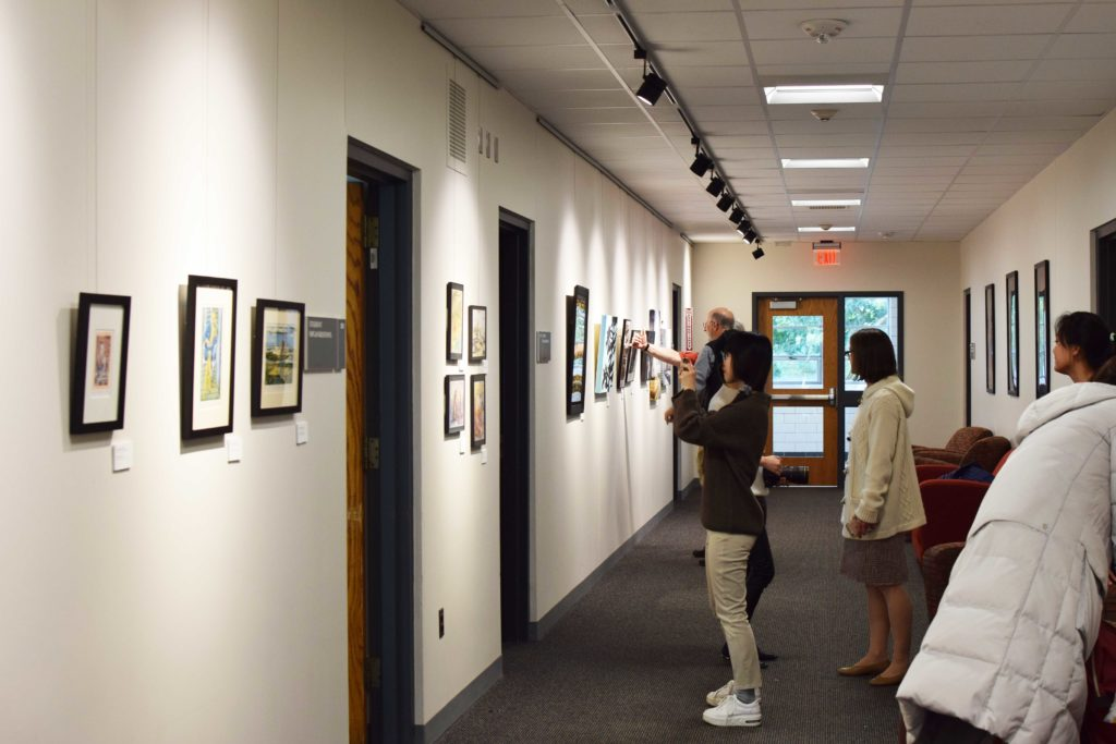 Faculty and Staff Art Exhibit Features Unique, Lively Work