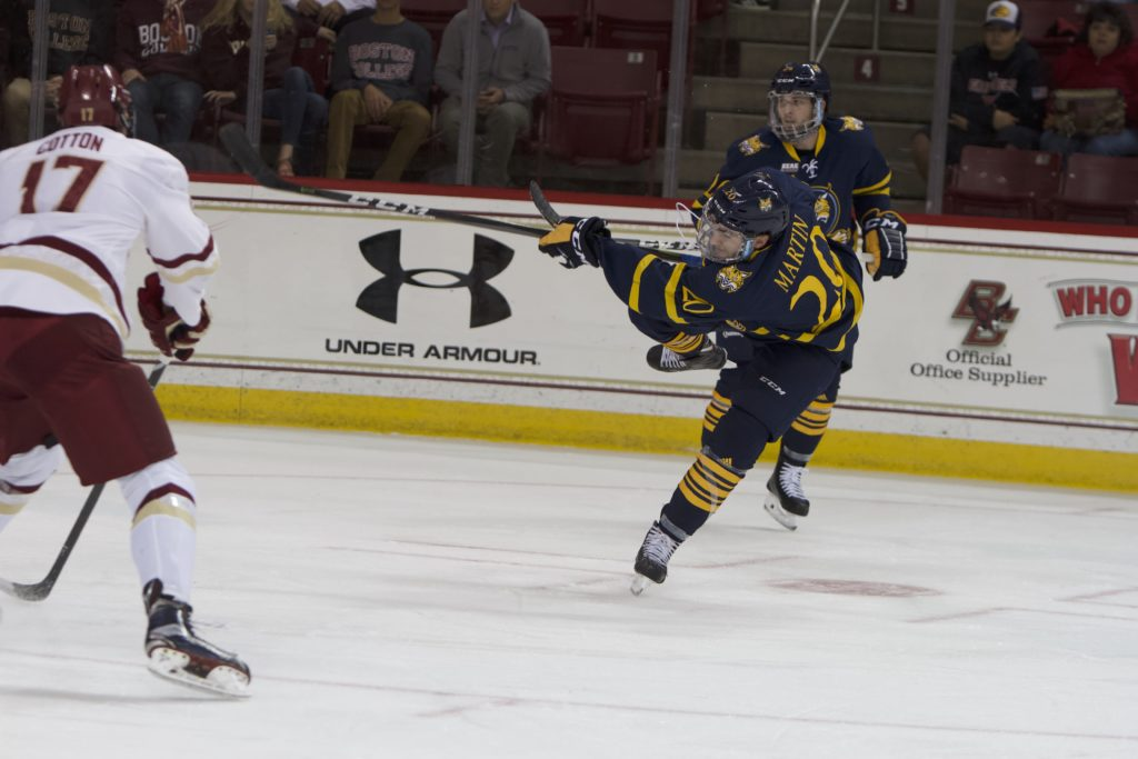 Non-Conference Struggles Continue as Eagles Fall to Quinnipiac
