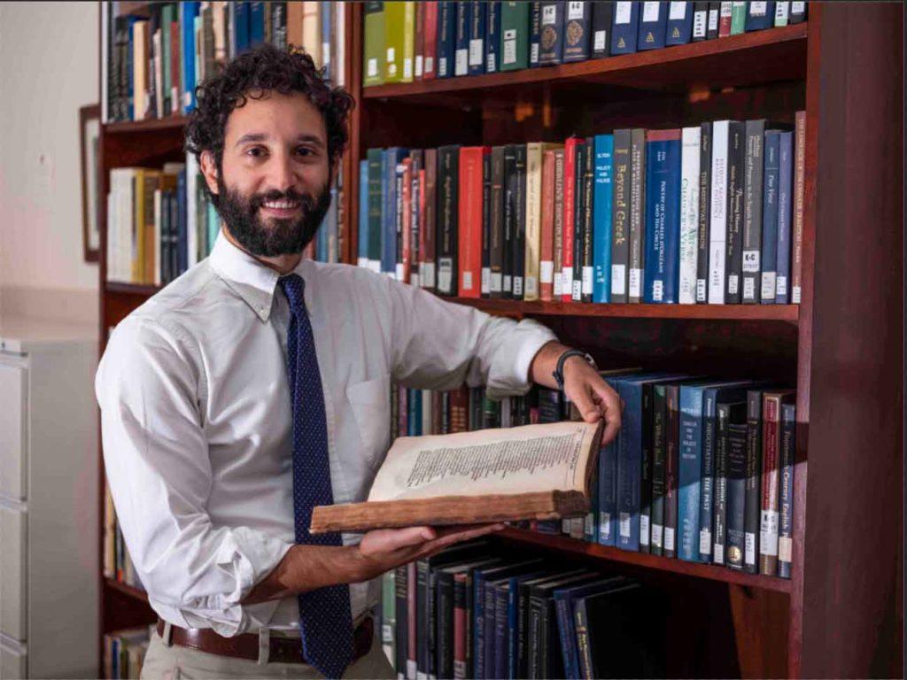Weiskott Brings Medieval Times to Students' Fingertips
