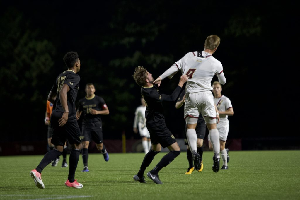 No. 2 Wake Forest Outlasts BC in Physical Showdown