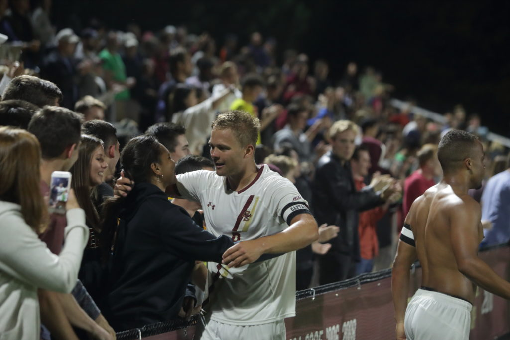 BC Upsets No. 17 N.C. State, Snaps Three-Match Losing Streak