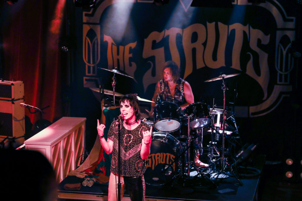 The Struts Captivate Crowd at Paradise Rock Club