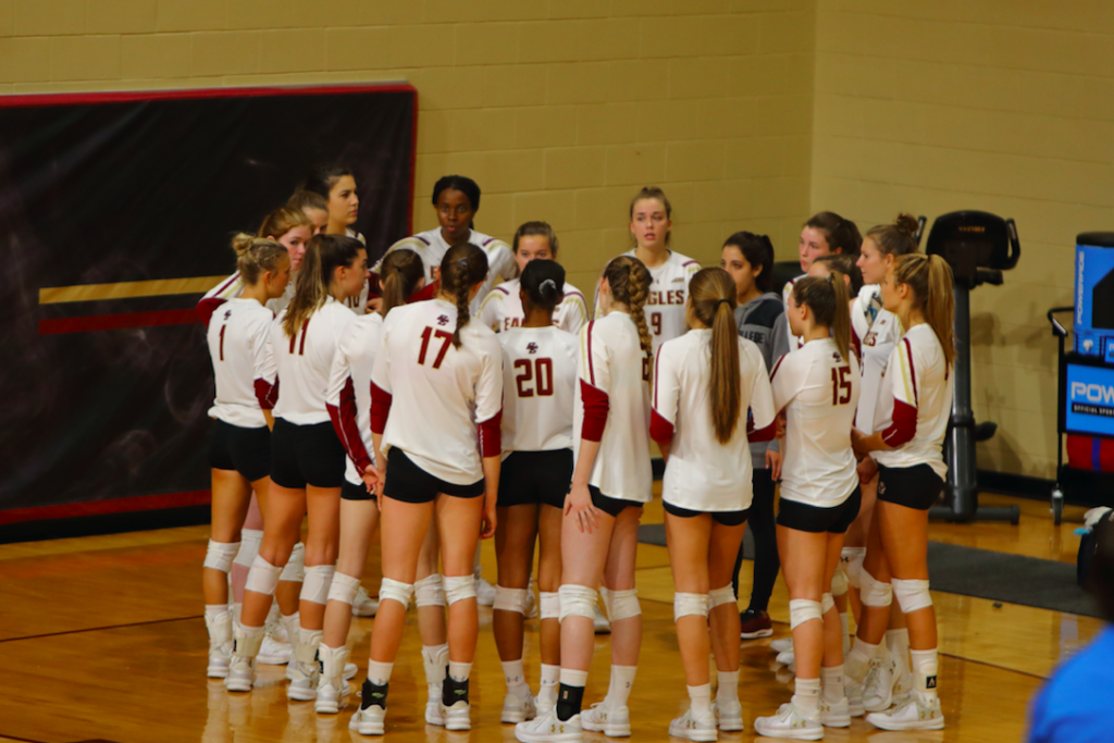 Fourth Set Escapes Eagles, Fall to Clemson in Season Finale