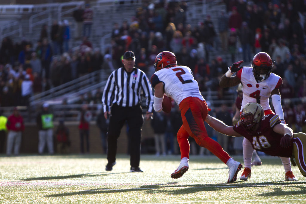 Against No. 19 Syracuse, BC Limps Into Bowl Season With Third-Straight Loss