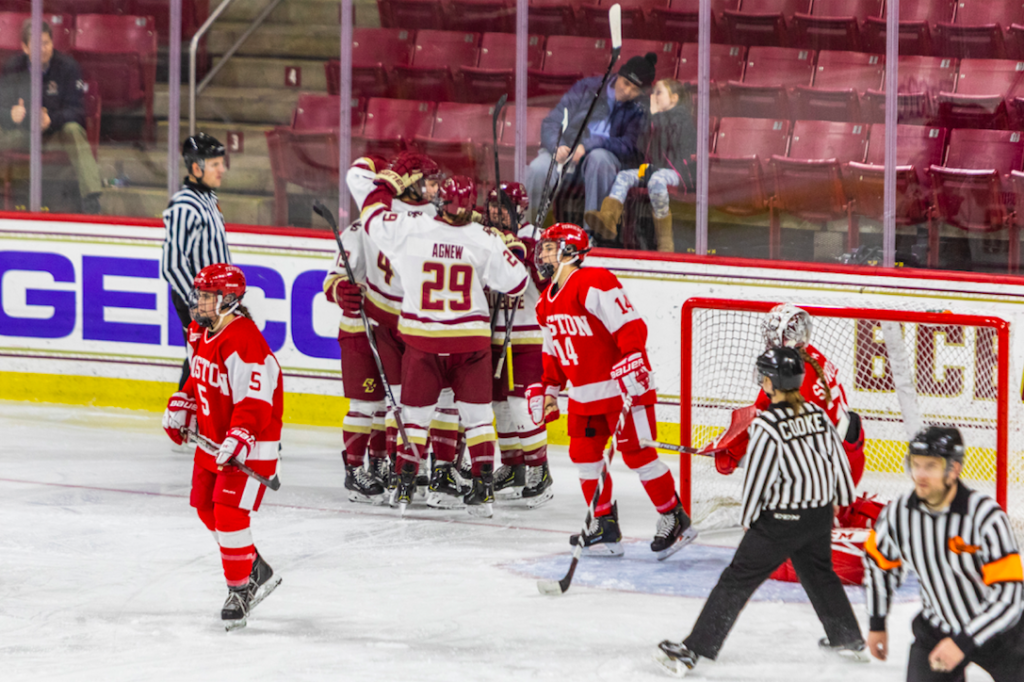 Eagles Extend Undefeated Streak Against Rival BU to Seven Games