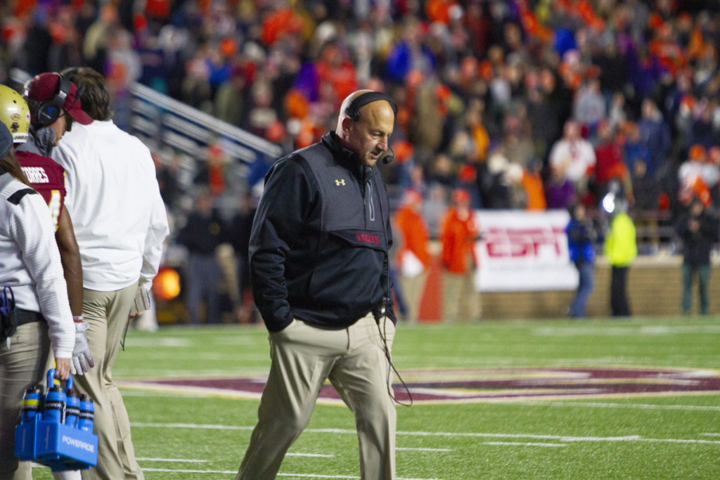 In Pivotal Moment, Steve Addazio Chose to Punt the Game Away