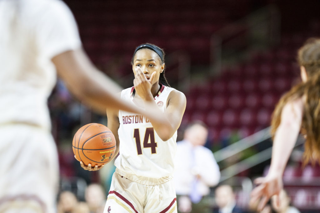 Fourth Quarter Surge Lifts BC Over Houston for Fourth-Straight Win