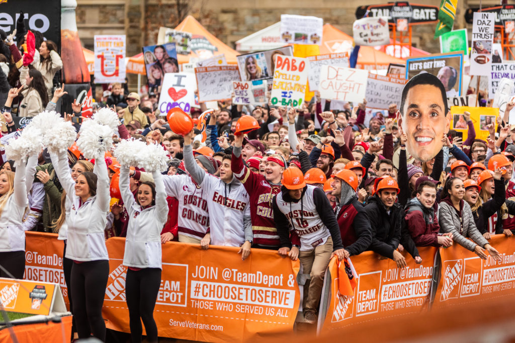 College GameDay Showed That BC's Football Tradition Can Be Restored