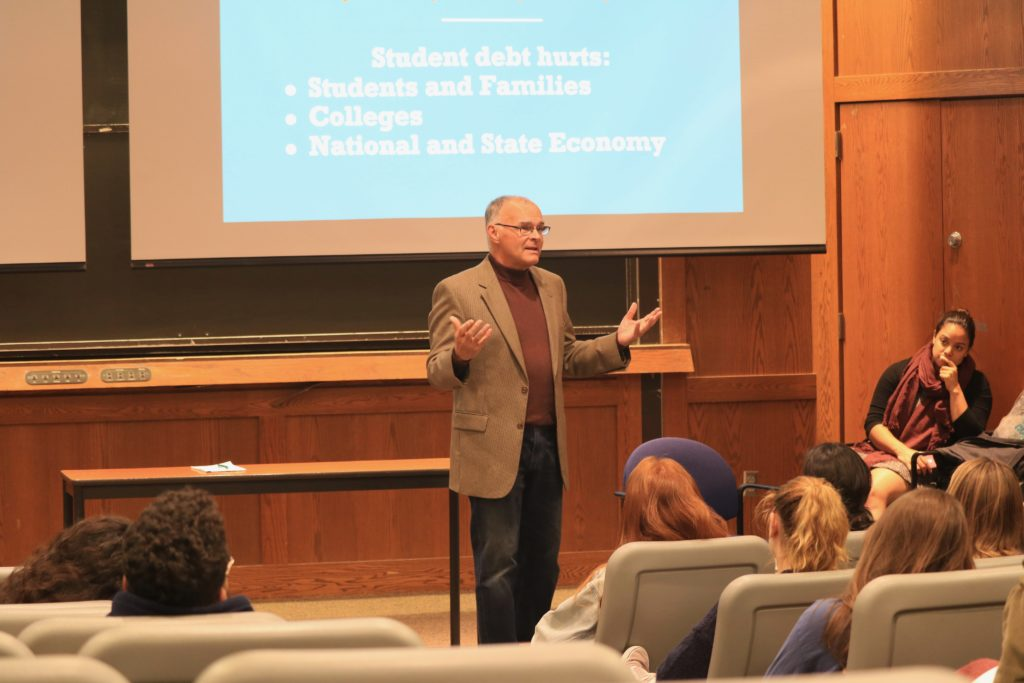 Hildreth Draws Attention to Student Debt Crisis