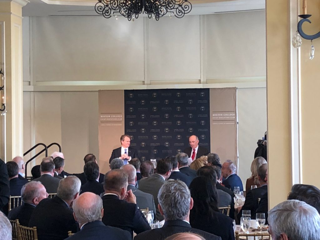 Bank of America CEO Addresses BC Chief Executives Club