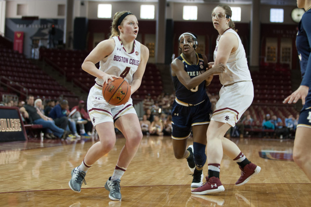BC Makes Quick Work of URI in Bernabei-McNamee's Debut