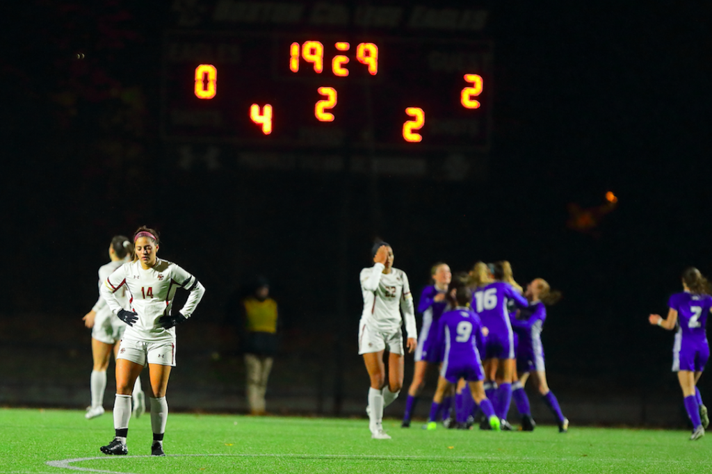 Eagles Upset in First Round, Fall to Hofstra at Home