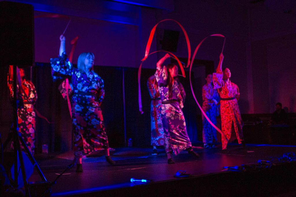 Breakdancing, Traditional Music Impress at Japan Club Culture Show