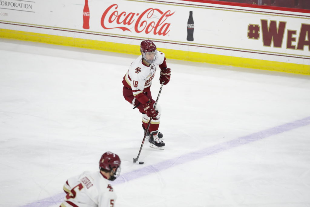 Previewing 2018-19 Men's Hockey: vs. Merrimack