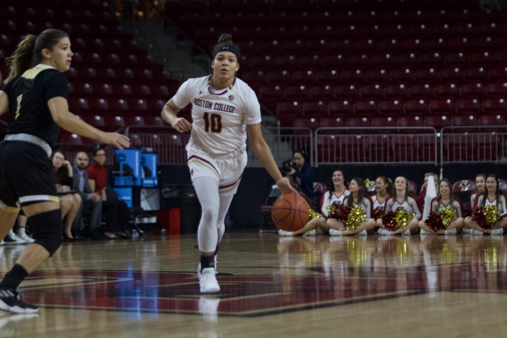 Eagles Shake Off Slow Start, Cruise to 31-Point Win Over Dartmouth