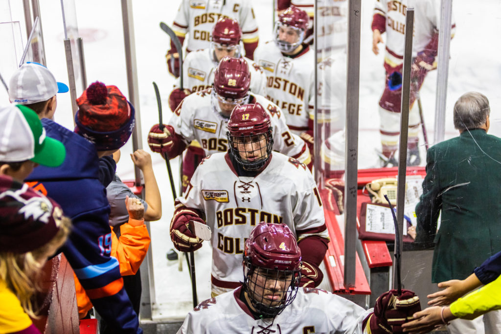 Hockey East at Halfway: Upstart UMass Boasts Perfect Conference Record
