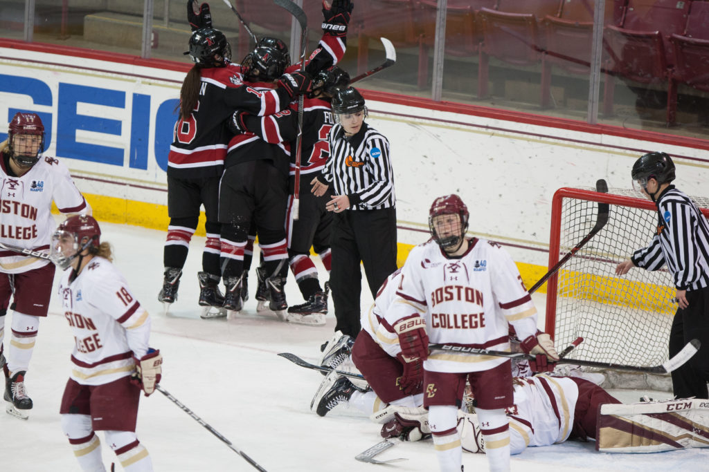 Hockey East at Halfway: Northeastern Threatening BC's Five-Year Reign