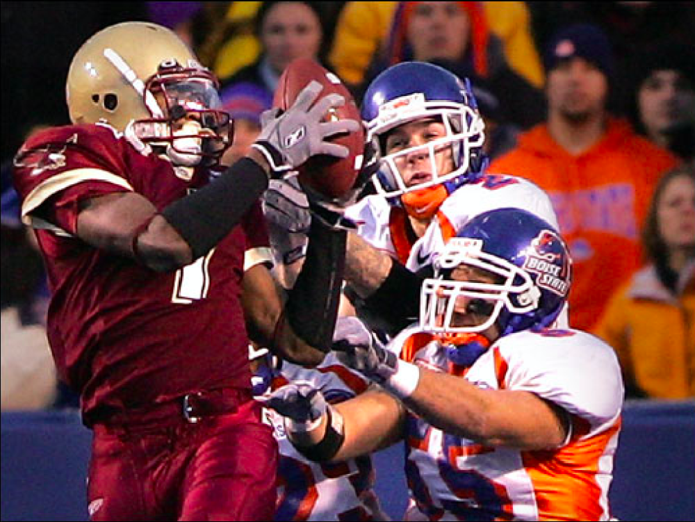 In 2005, BC Snapped a Lengthy Winning Streak on Boise State's Home Turf