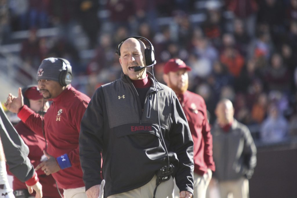 Jarmond Signs Addazio to Two-Year Extension