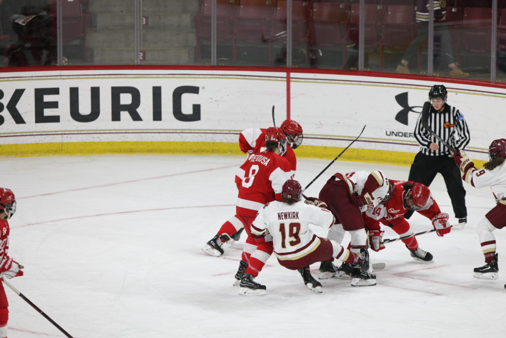 Eagles' Struggles Continue in Weekend Finale Loss to Terriers