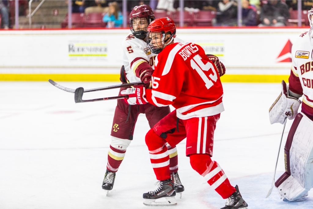 BC, BU Play to First-Ever Scoreless Tie in Longtime Rivalry